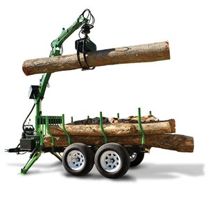 CHARGEUSE A BOIS 9.5' AVEC TREUIL (Log Loader With Winch)